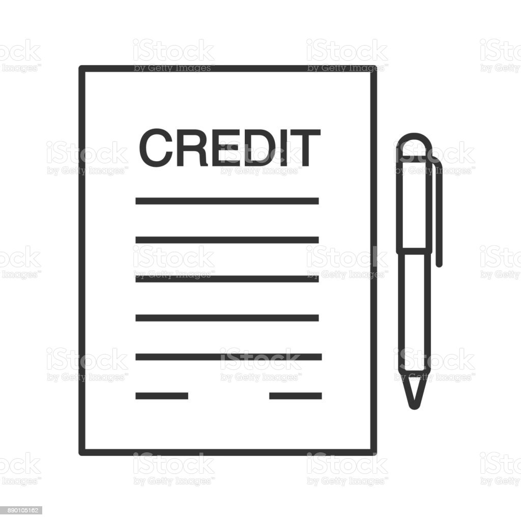 Credit line agreement sample gallery agreement example ideas credit agreement image collections agreement example ideas credit agreement contract icon stock vector art 890105162 istock pronofoot35fo Image collections
