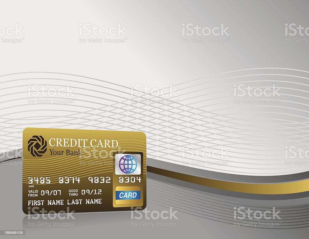 Credit card background royalty-free credit card background stock vector art & more images of backgrounds