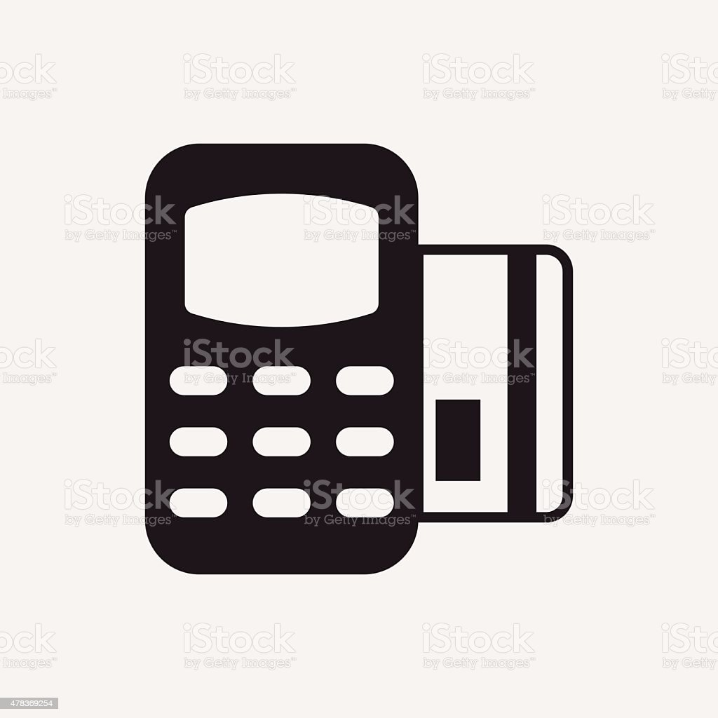 Credit Card Machine Icon Stock Vector Art & More Images of 2015 ...