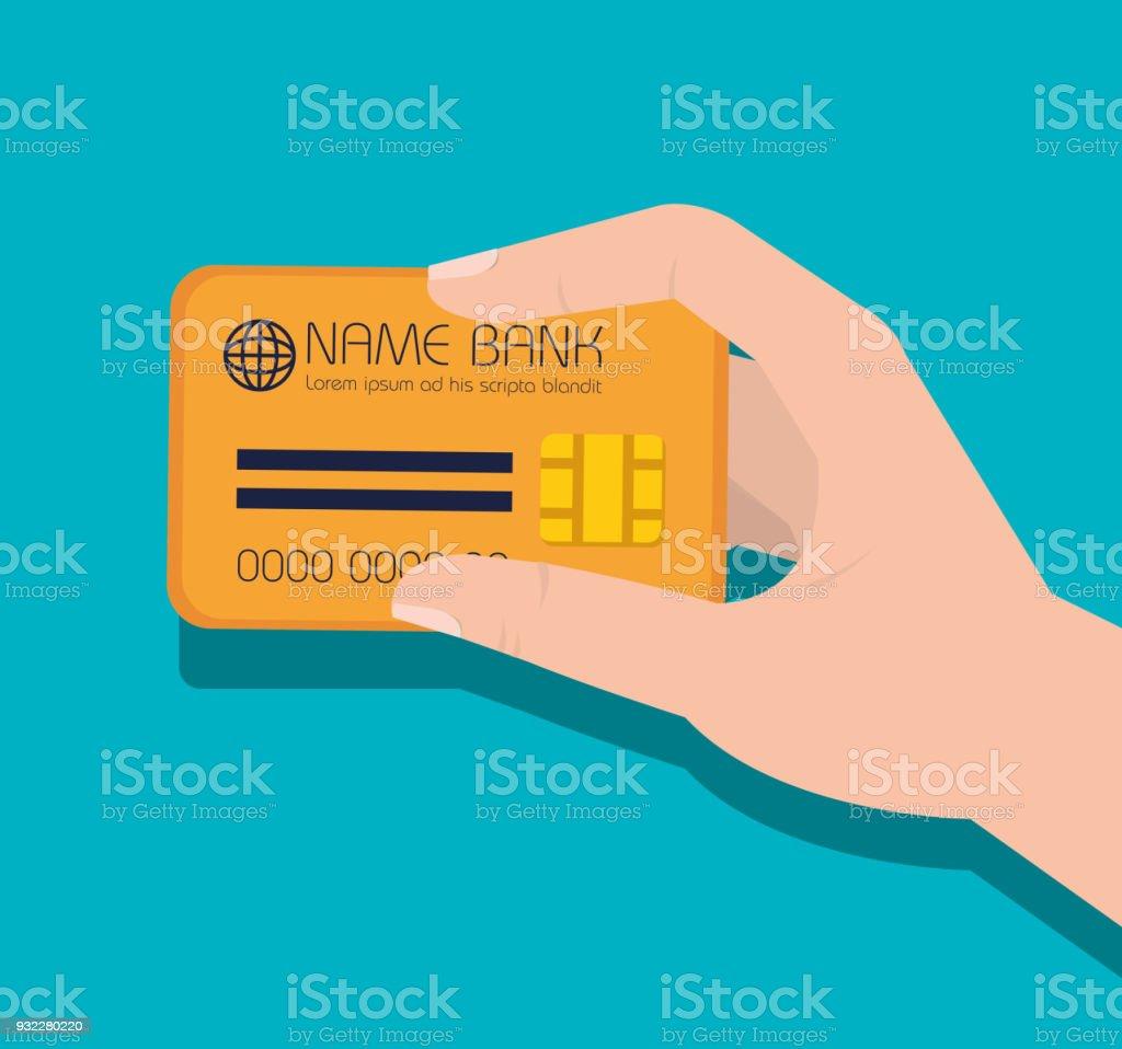 icono de tarjeta de crédito de dinero - ilustración de arte vectorial