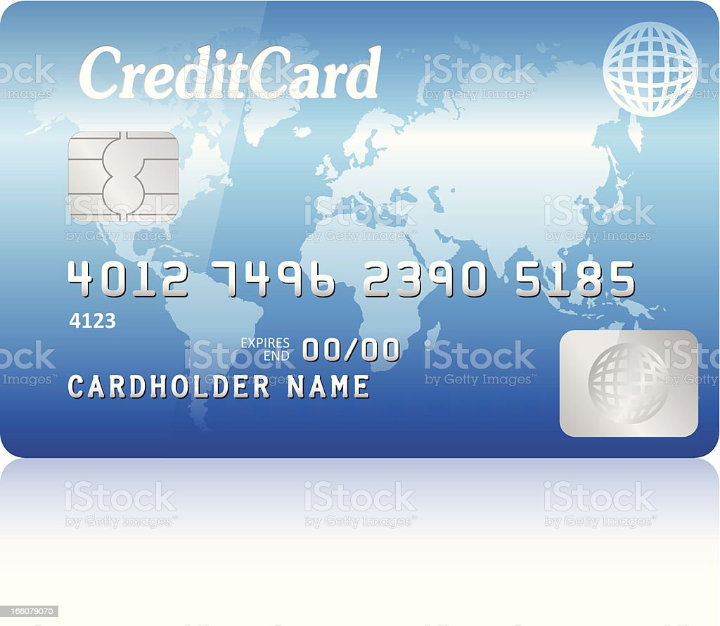 credit card royalty-free credit card stock vector art & more images of blue