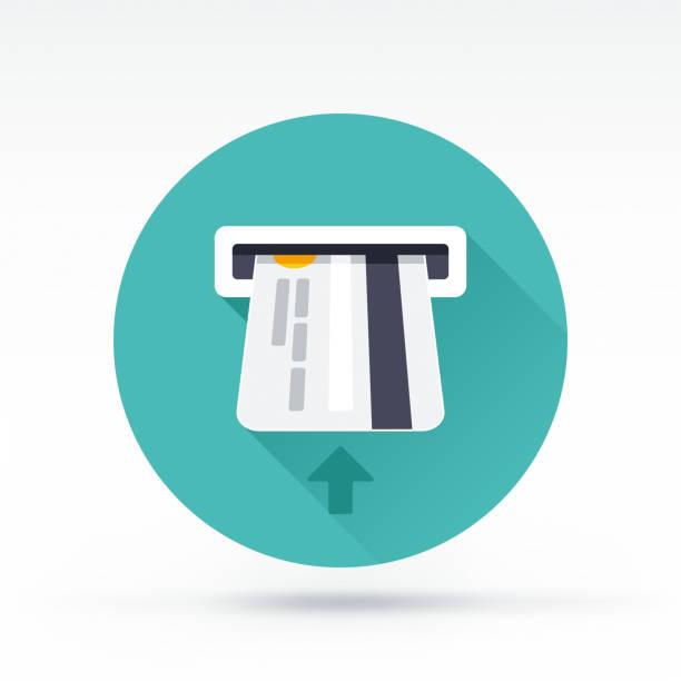 kredi kartı - sokmak stock illustrations