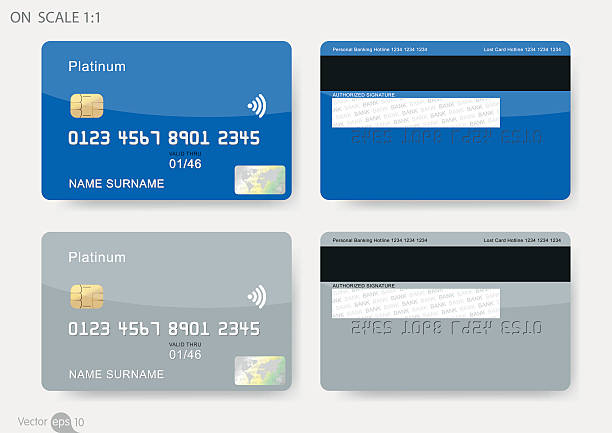 credit cards - credit cards stock illustrations, clip art, cartoons, & icons