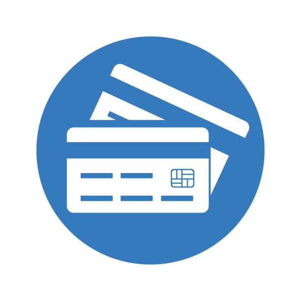кредит, mastercard, значок дебетовой карты - credit card stock illustrations