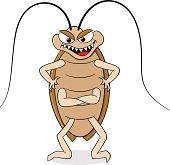 creepy cockroach
