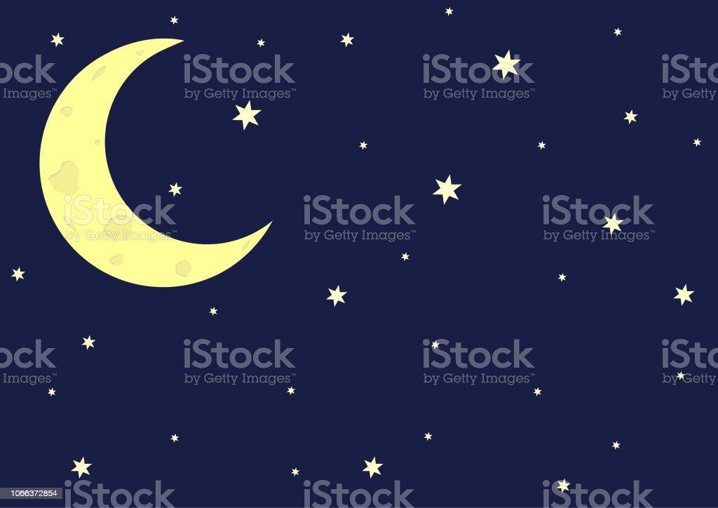 crescent moon stock illustration download image now istock crescent moon stock illustration download image now istock
