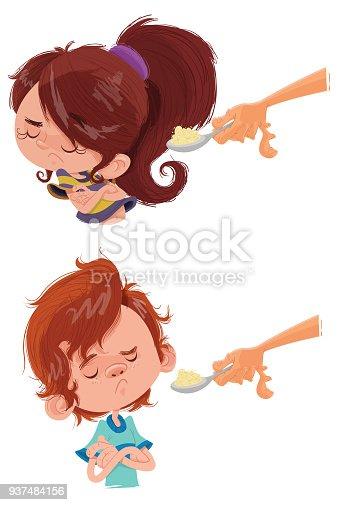 istock Crianças não querem comer! 937484156