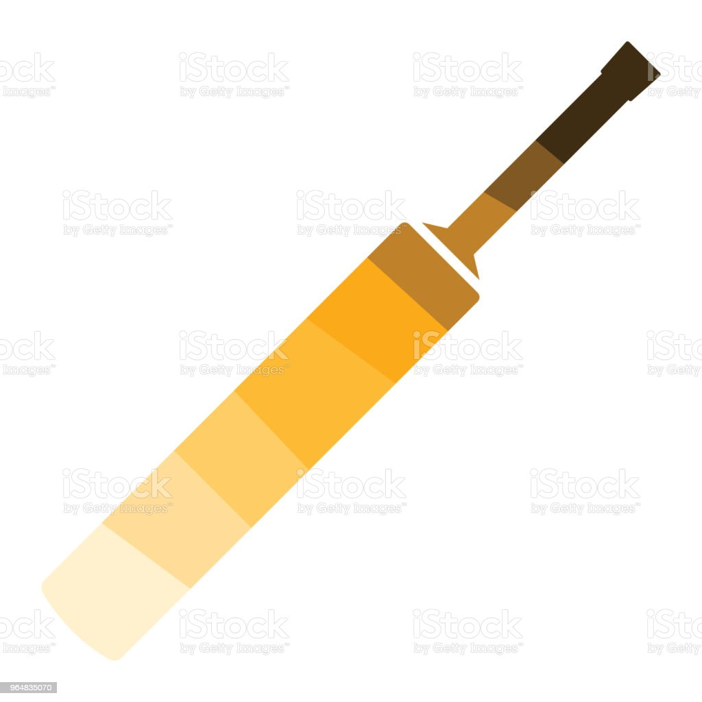 Cricket bat icon royalty-free cricket bat icon stock vector art & more images of ball