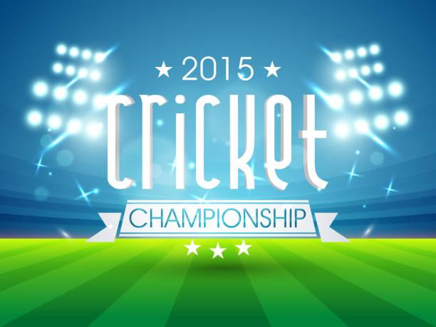 ilustraciones, imágenes clip art, dibujos animados e iconos de stock de 2015 cricket campos de texto. - críquet