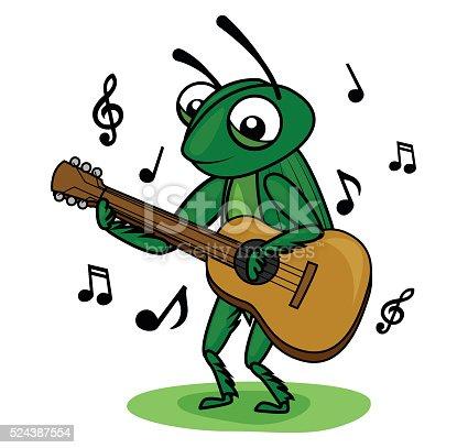 cricket guitar player