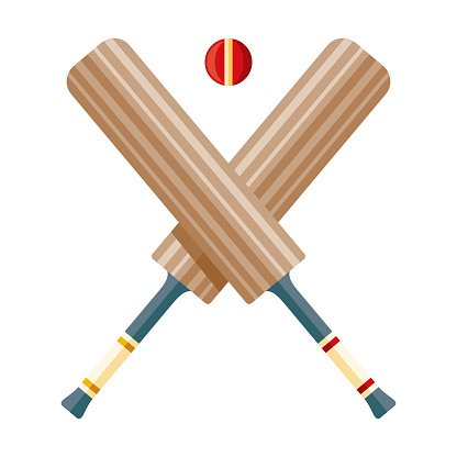 Cricket Icon on Transparent Background
