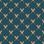Cricket Seamless Pattern