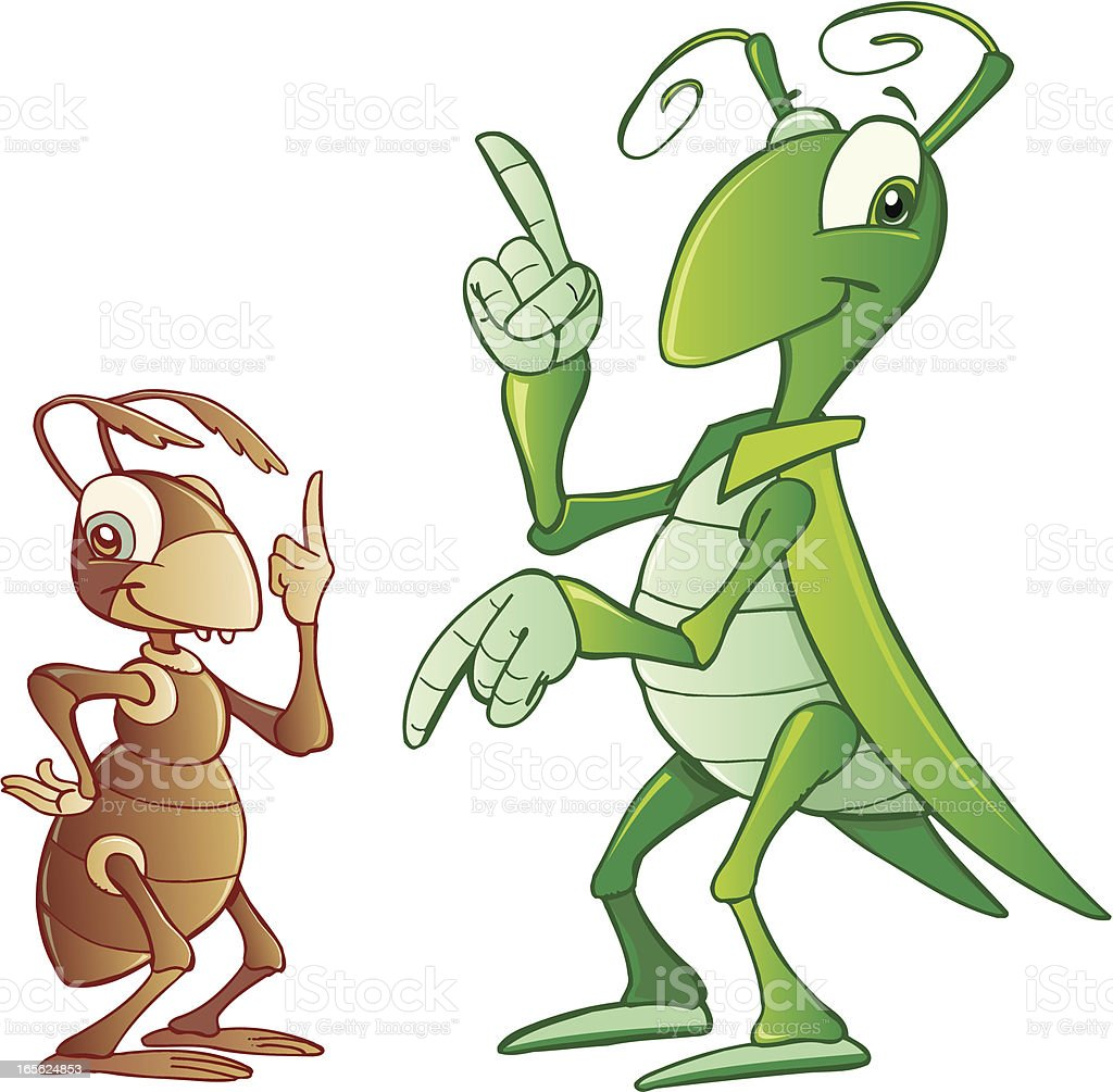 Cricket vector art illustration