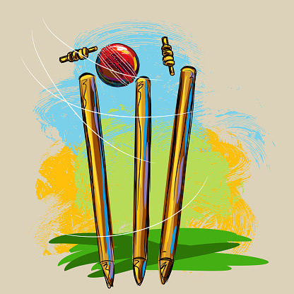 Cricket Wickets and Ball