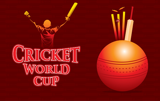 cricket world cup poster design