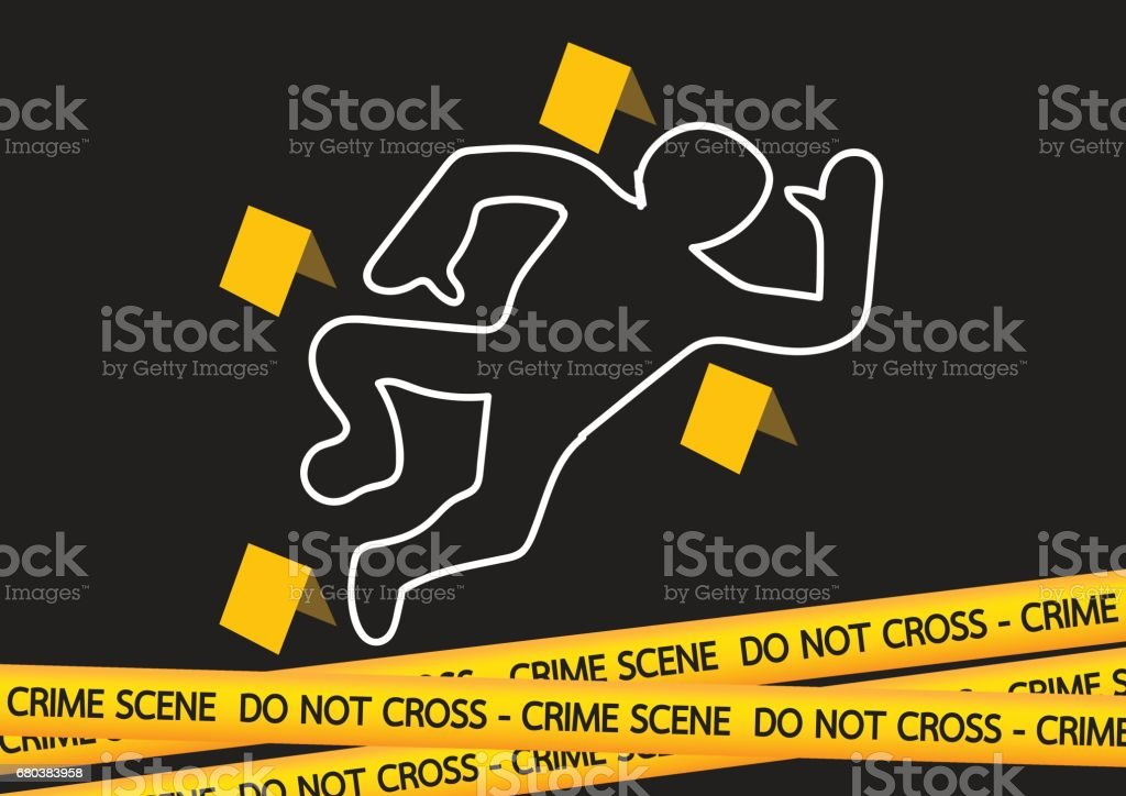 Crime scene danger tapes  illustration royalty-free crime scene danger tapes illustration stock vector art & more images of abstract