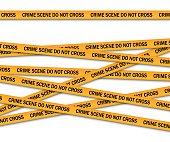 犯罪現場は黄色の警察のテープを越えないようにしてください。