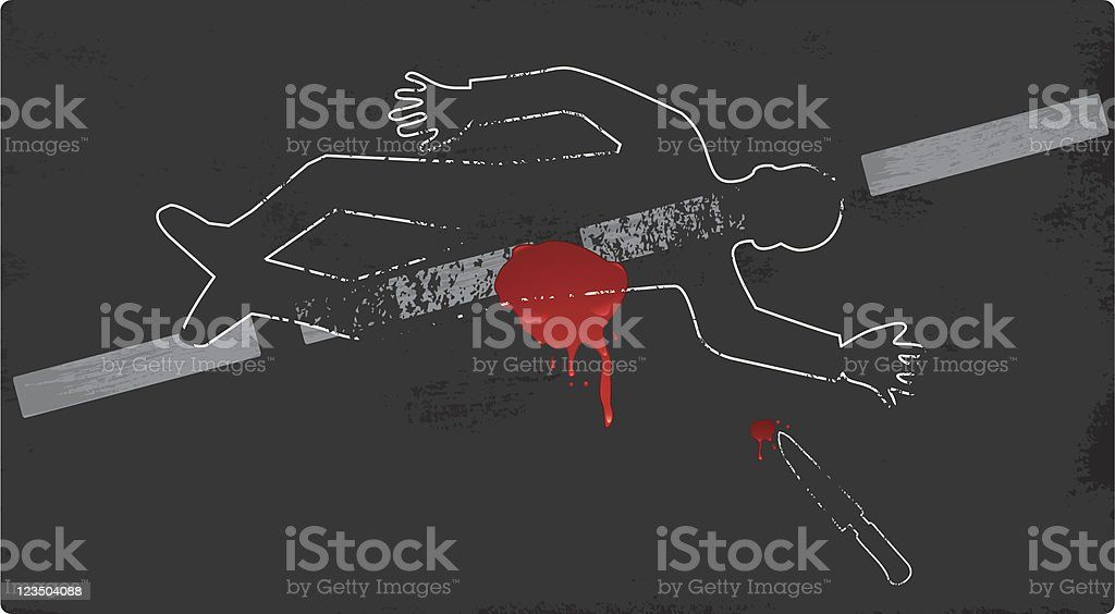 Crime scene royalty-free crime scene stock vector art & more images of adult