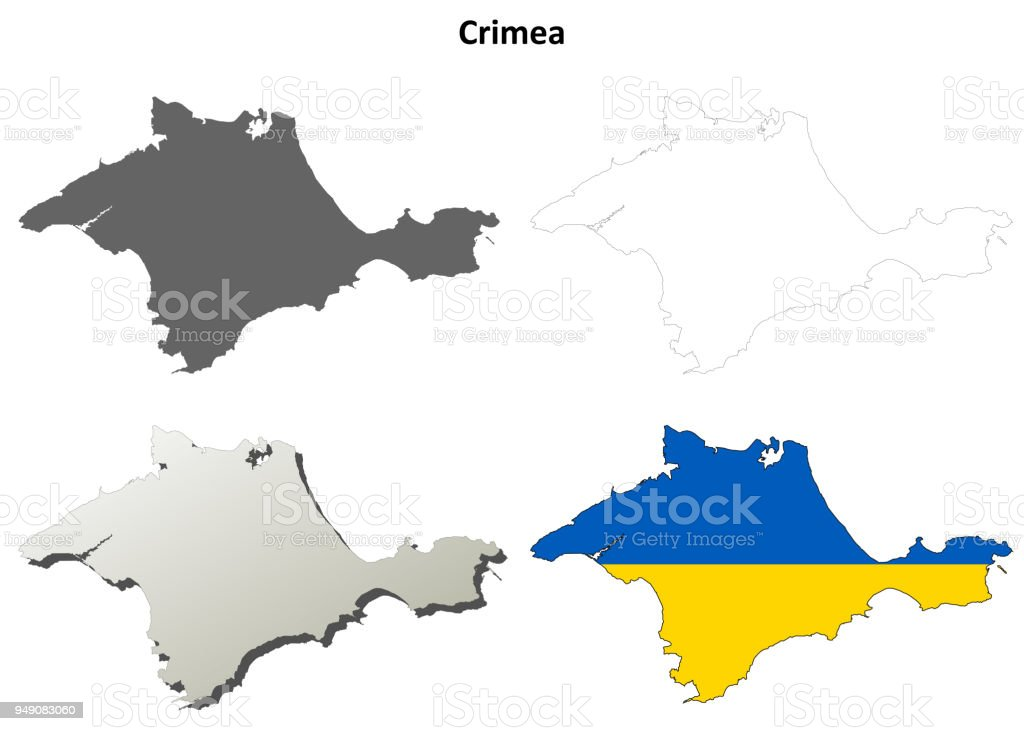 クリミア自治共和国概要地図セッ...
