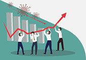 istock Crisis Management, Teamwork concept 1216796344