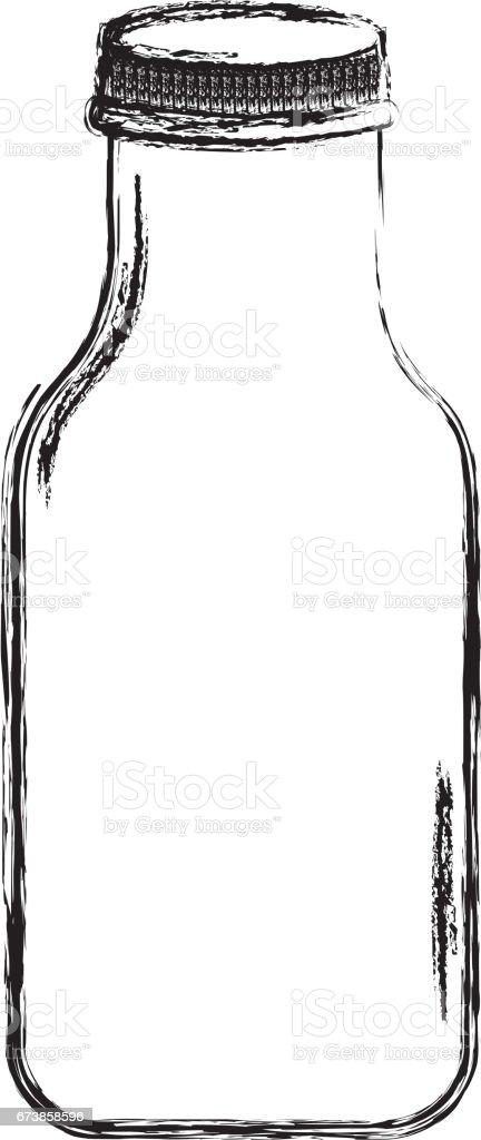 cristal bottle isolated icon cristal bottle isolated icon – cliparts vectoriels et plus d'images de alcool libre de droits