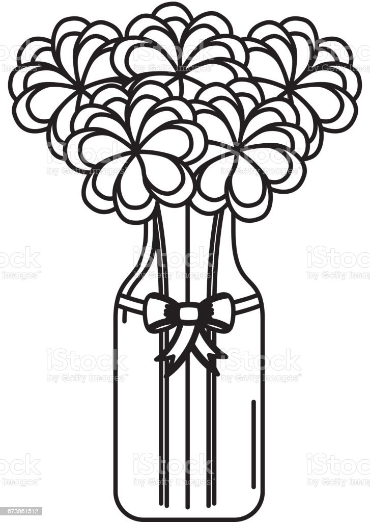 cristal bottle with flowers isolated icon royalty-free cristal bottle with flowers isolated icon stok vektör sanatı & açık gökyüzü'nin daha fazla görseli