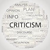 criticism word