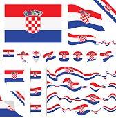 Croatia Flag Set