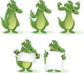 Crocodile Cartoon Collection
