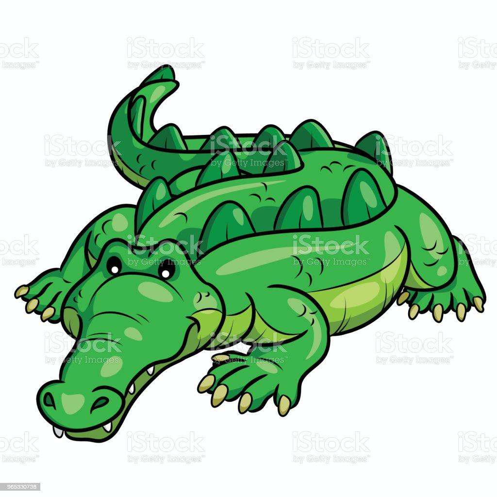 Crocodile Cartoon Cute royalty-free crocodile cartoon cute stock vector art & more images of africa