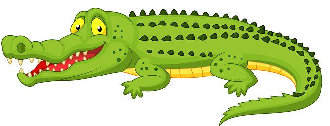 Crocodile Dessin Anime Vecteurs Libres De Droits Et Plus D Images Vectorielles De Alligator Istock
