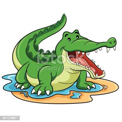 Crocodile dessin anim vecteurs libres de droits et plus d 39 images vectorielles de afrique istock - Dessin anime crocodile ...