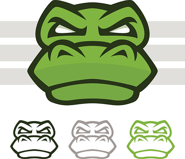 Crocodile Mascot vector art illustration