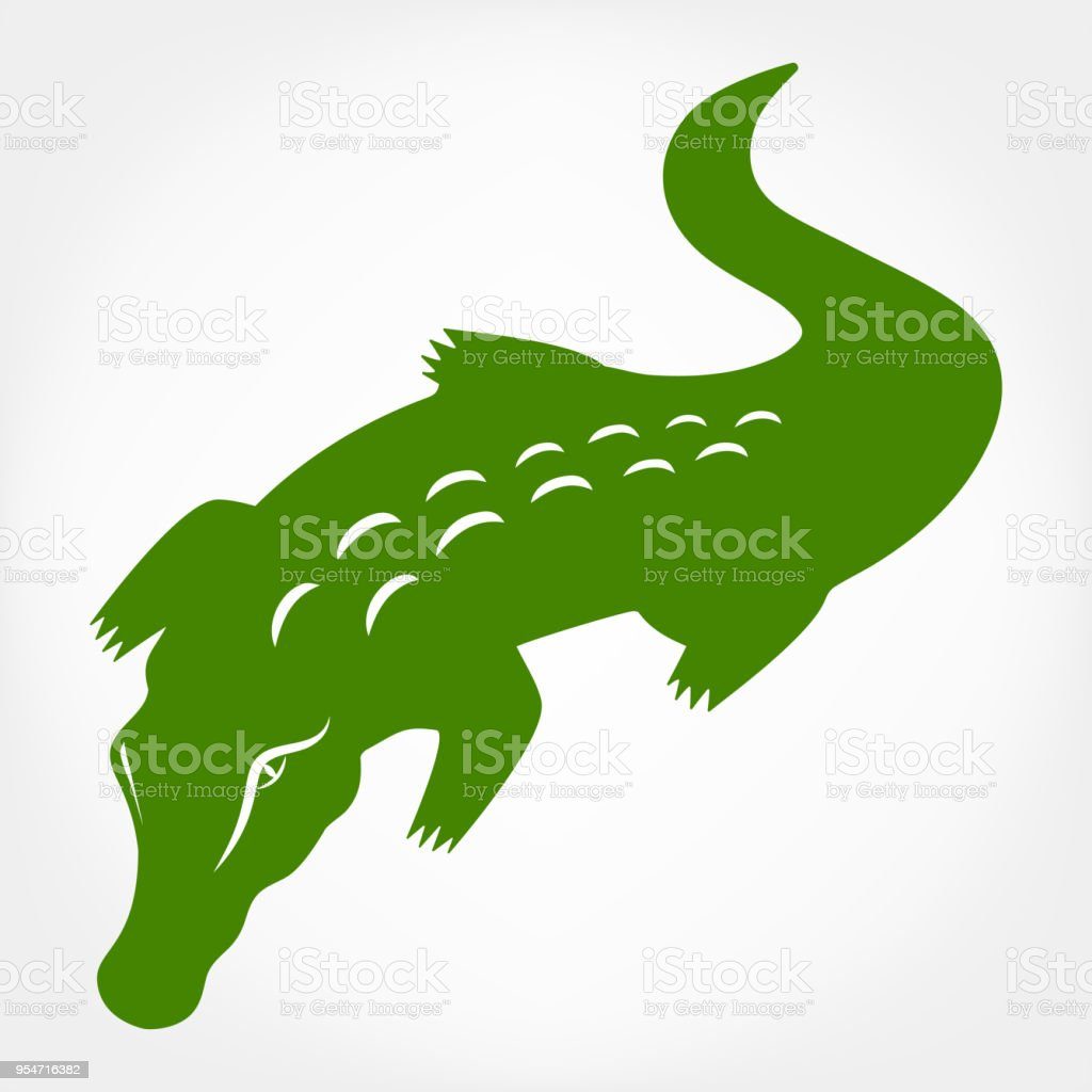 crocodile - Illustration vectorielle