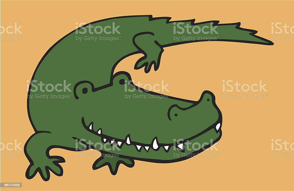 crocodile royalty-free crocodile stock vector art & more images of africa