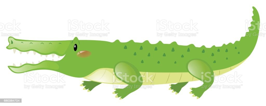 Crocodile with happy face royalty-free crocodile with happy face stock vector art & more images of alligator