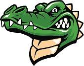 crocodille head mascot