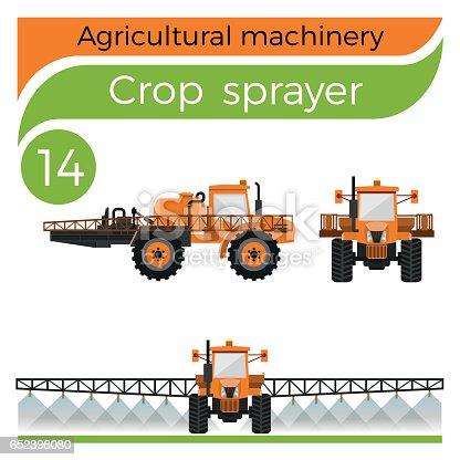 Agricultural machinery: crop sprayer