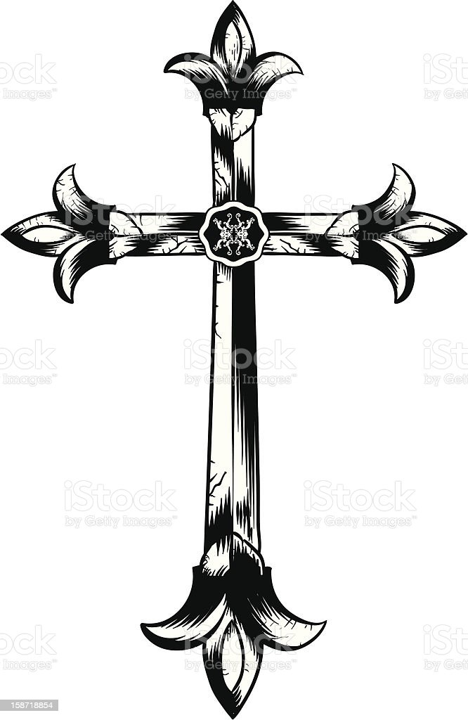 Cross 2 royalty-free cross 2 stock vector art & more images of coat of arms