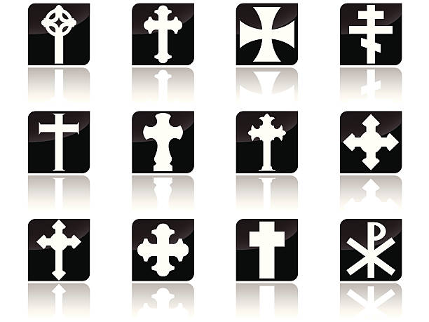 Cross Collection vector art illustration