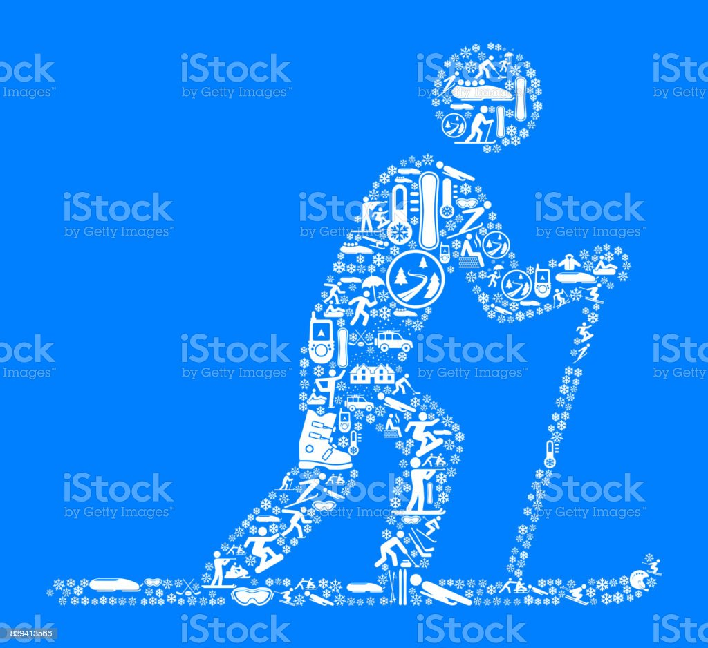 Cross Country Skiing Winter Sports Fun. This image features the main...