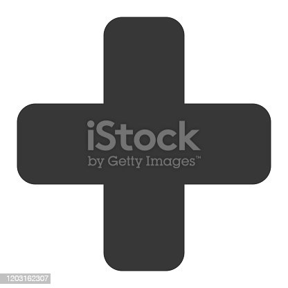 Vector of Cross Icon
