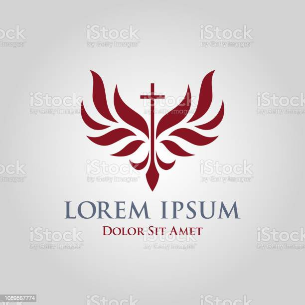 Cross icon with stylized wings religious church sign vector id1089567774?b=1&k=6&m=1089567774&s=612x612&h=lewgll3uqelfo0yklhpw 4u tuoshjr9lrkrgk7egsy=