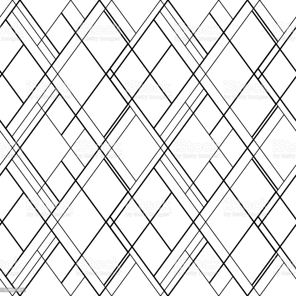 Cross Lines Vector Seamless Pattern Hatch Background Scandinavian Wallpaper Design Stock Illustration Download Image Now Istock