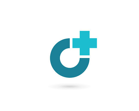 Traverser Ou Plus Avec Création Dicône Logo Lettre O Vecteurs libres de droits et plus d'images vectorielles de Abstrait