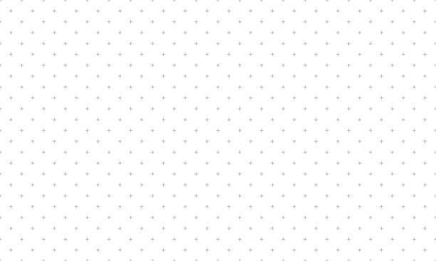 illustrazioni stock, clip art, cartoni animati e icone di tendenza di motivo incrociato grigio senza cuciture su sfondo bianco. più firma il vettore di sfondo astratto. - semplicità