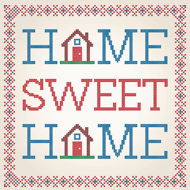 Royalty Free Home Sweet Home Clip Art, Vector Images & Illustrations ...