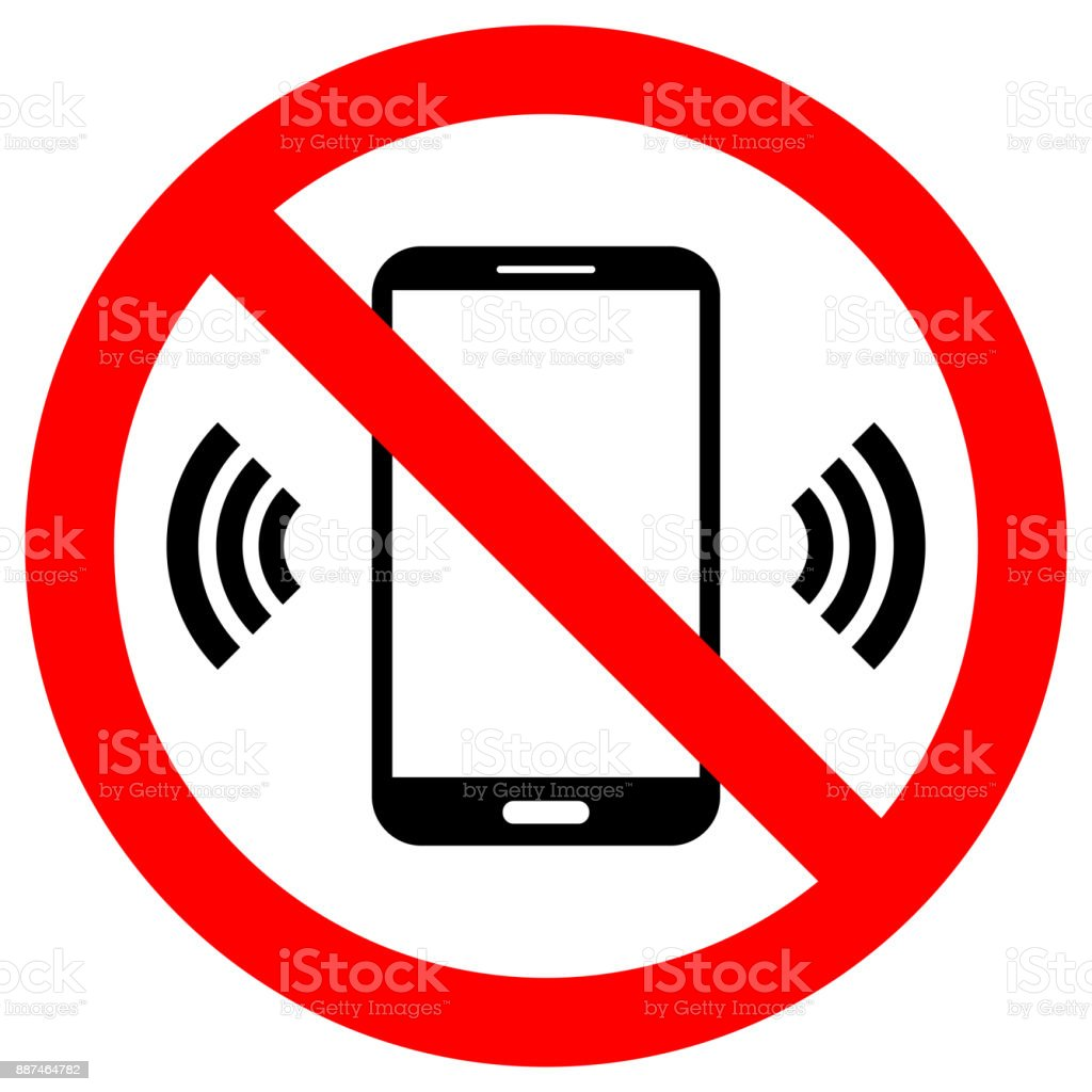 No cell phones use crossed out sign keep silence symbol smartphone no cell phones use crossed out sign keep silence symbol smartphone icon in red buycottarizona Images