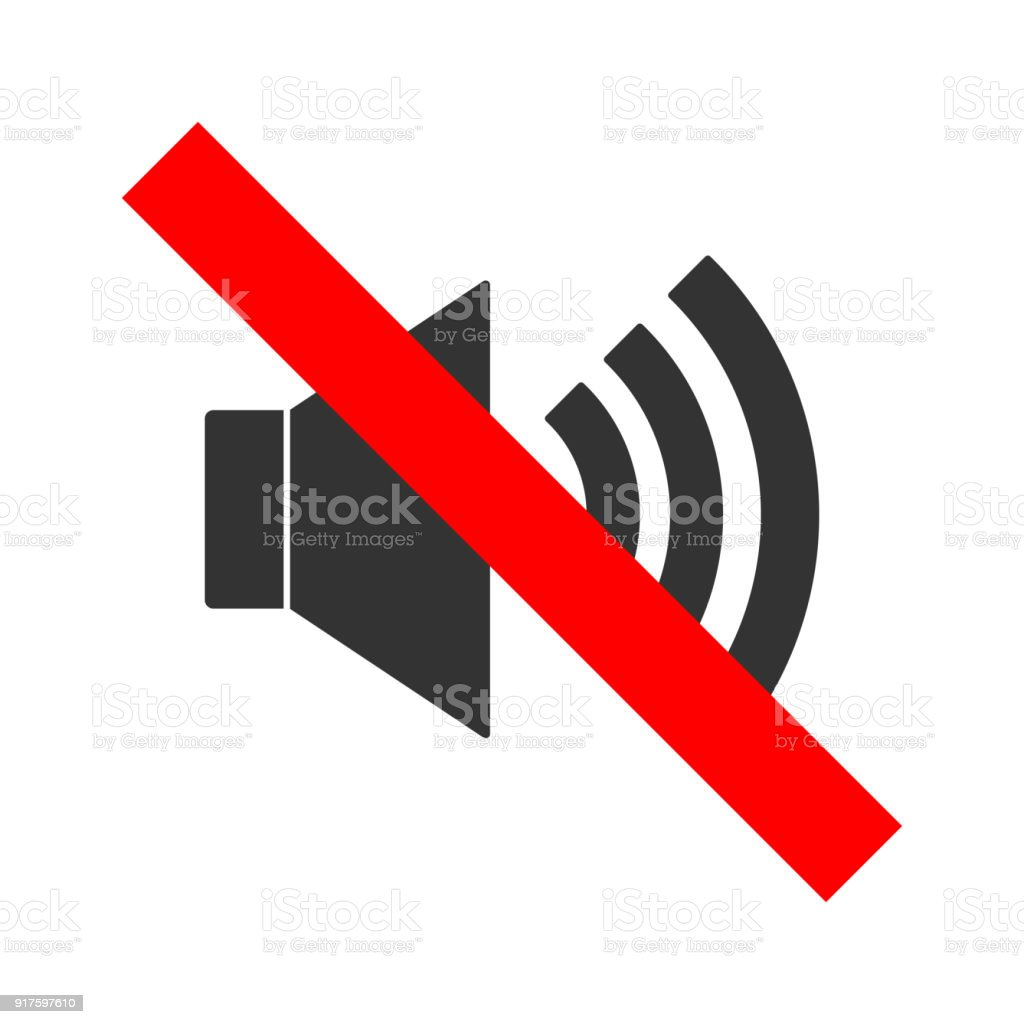 No sound crossed out sign mute icon keep silence symbol vector stock no sound crossed out sign mute icon keep silence symbol vector royalty buycottarizona Choice Image