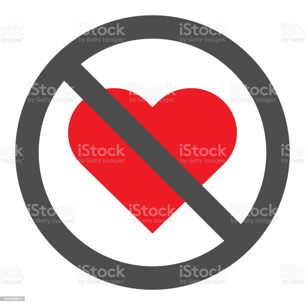 No love crossed out sign red heart icon in circle vector stock no love crossed out sign red heart icon in circle vector royalty free buycottarizona